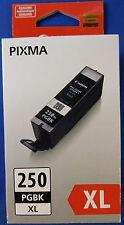 GENUINE CANON PGI-250XL BLACK INK CARTRIDGE NEW IN BOX