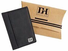 Men's Slim Leather Wallet - Minimalist Front Pocket Wallets For Men - ID Slot, G