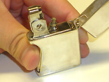 WIND-O-MATIC SQUEEZE AUTOMATIC LIGHTER -QUETSCHZÜNDER -PAT.PENDING- U.S.A. -RARE