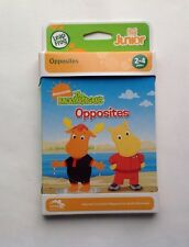LeapFrog Tag Junior Book: The Backyardigans Opposites Age 2-4 years New