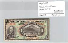 BILLET BOLIVIE - 1 BOLIVIANO L1928