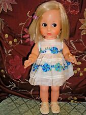 "American Character Blue Ribbon 13"" Vinyl Doll with Follow Me Eyes"