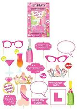 Pack of 20 Hen Party Photo Booth Props Selfie Kit Hen Do Night