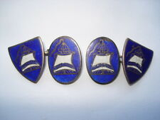 SCARCE c1921 SENTINELS OF EMPIRE FASCIST(BLUE SHIRTS)GENTS MEMBERS CUFFLINKS