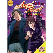 DVD Angel Heart (TV 1 - 50 End) DVD + Free Gift