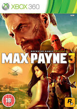 Max Payne 3 XBox 360 *in Excellent Condition*