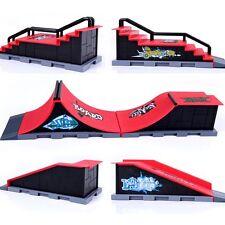 2x(Skate Park Ramp Parts for Tech Deck Fingerboard Finger Board (D) S8)