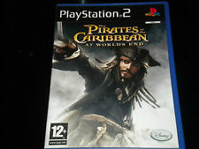 Pirates of the Caribbean - At Worlds End - Sony PlayStation 2 - PS2 - PAL Region