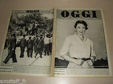OGGI=1956/28=POZNAN=MARIO D'AGATA=CELLA DI BOBBIO=BUSTO ARSIZIO=CASTELFRANCO V.