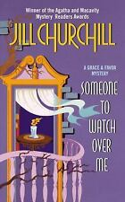 Someone to Watch Over Me (Grace & Favor Mysteries, No. 3)-ExLibrary
