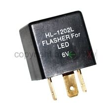 1 Relais für 6V LED Blinker 3pol Blinkgeber Oldtimer Blinklicht Flasher Rele Neu