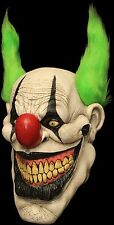 Zippo Killer Clown Full Head & Neck Latex Halloween Mask by Ghoulish Productions