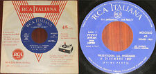 NEWLY DISCOVERED Elvis & VV.AA. Italy PROMO EP for Radio/DJ ONLY Dec-57