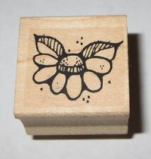 Flower Petals Rubber Stamp Leaves Whipper Snapper Designs DIY Crafts Floral Card