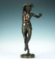 Derviche neapolitanischer pêcheurs Francisque Joseph Duret bronze Delafontaine
