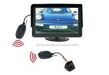 "Unterbau Rückfahrkamera CM368 & 4.3"" Monitor Funkübertrager passt für Nissan"