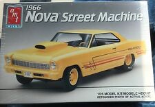 AMT 1966 CHEVY NOVA Pro Street Model Car Mountain KIT 1/25 Fs Vintage usa