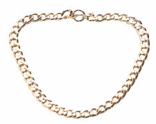 GENTS COOL CHUNKY GOLD CHAIN STATEMENT NECKLACE GANGSTER TRENDSETTER(NS4/31)