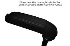 BLACK STITCHING FITS PEUGEOT RCZ 2010+ HANDBRAKE HANDLE LEATHER SKIN COVER ONLY
