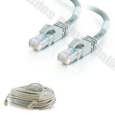 25FT CAT5 CABLE MODEM GRAY ETHERNET LAN NETWORK RJ45 WIRE CAT5E PS3 XBOX