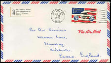 USA 1976 Commercial Airmail Cover To UK #C31350