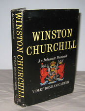 Winston Churchill An Intimate Account Violet Bonham Carter 1965 Harcourt BoM HB