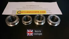 CBR600RR  2003- 2004 Captive race wheel Spacers. Full set. UK made.