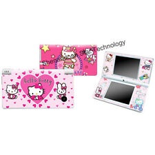 J557 Vinyl Heart HELLO KITTY Decal skin cover case for Nintendo DSI NDSI sticker