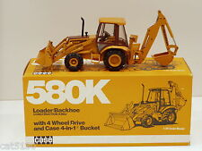 "Case 580K Backhoe - ""CONEXPO 1987"" - 1/35 - Conrad #2934 - MIB"