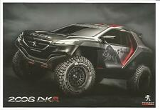 RARE Carte Postale Postcard CP PEUGEOT 2008 DKR Rally Paris Dakar 2015 RED BULL