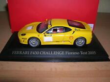 Ixo Ferrari F430 / F 430 Challenge Fiorano Test 2005 giallo 1:43 FER019
