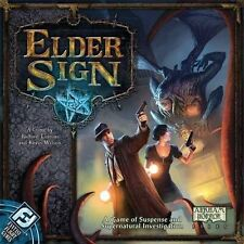 Fantasy Flight Games - Elder Sign Board Game (New) Arkham Horror Files