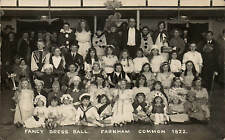 Farnham Common near Slough. Fancy Dress Ball 1922.