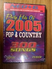 Party Hits of 2005 pop & Country Chartbuster  8533 for RSQ Neo+G player only