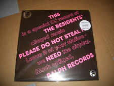 THE RESIDENTS PLEASE DO NOT STEAL LP VINYL #000882 RSD NEW RECORD STORE DAY 2016