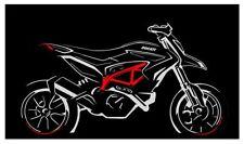 Ducati Cubierta Hypermotard SP Hyperstrada Garaje Funda Cubre Moto