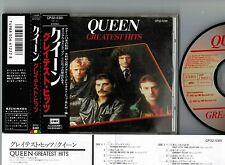 Ex! QUEEN Greatest Hits JAPAN CD 1987 issue w/OBI CP32-5381 CD:VG,OBI:Ex+