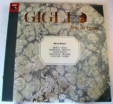 BENIAMINO GIGLI - GIGLI II - ARIE DA OPERE - 2 LP SIGILLATO