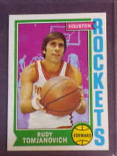 1974 Topps Rudy Tomjanovich #28 Rockets NM/MT