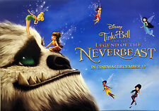 2 X DISNEY TINKERBELL AND & THE LEGEND OF THE NEVERBEAST FILM POSTERS MOVIE