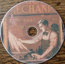Vintage THE BOY MECHANIC Books Vol. 1 2 & 3 1500 ideas Build Construct Make DVD