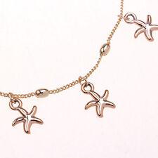 Bracelets de cheville étoile de mer décoration femmes plage beau mignon mode