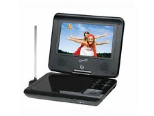 "SUPERSONIC SC-257 7"" Portable DVD/CD/MP3 Player +Digital TV Tuner +USB/SD Inputs"