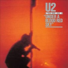 U2 - Under a Blood Red Sky [Deluxe Edition CD/DVD] Hard Book Cover, New & Sealed