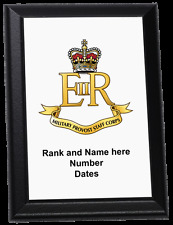 Personalised Wall Plaque - Military Provost Staff Corps, MPSC