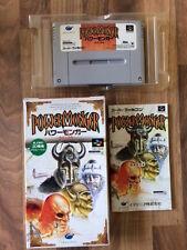 Super Famicom: POWER MONGER      (Super nes Japan)