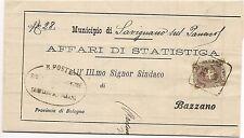 P8412   Modena, Savignano sul Panaro, annullo quadrato, 1899