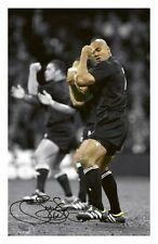JONAH LOMU - NEW ZEALAND ALL BLACKS AUTOGRAPHED SIGNED A4 PP POSTER PHOTO
