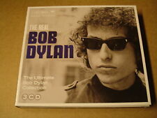 DIGIPACK 3-CD BOX / THE REAL...BOB DYLAN - THE ULTIMATE BOB DYLAN COLLECTION