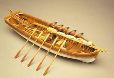 "Beautiful, new wooden model ship kit by Mantua Panart: the ""Lance"" lifeboat"
